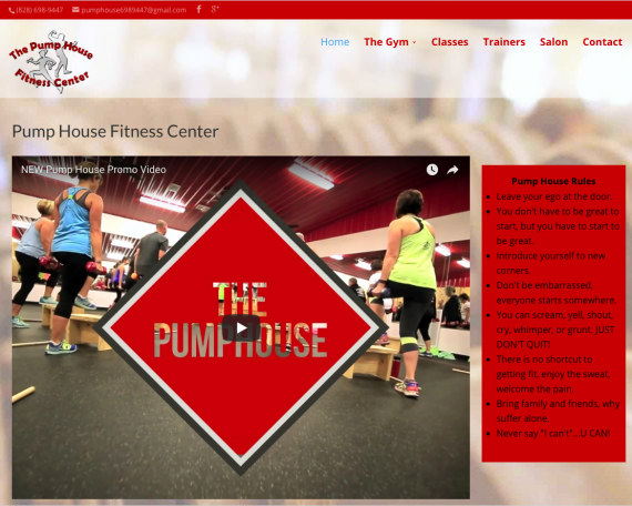 Pumphouse Fitness Center